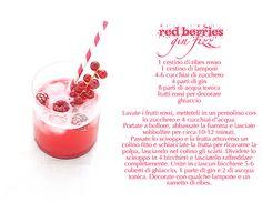 red berries fizz ricetta