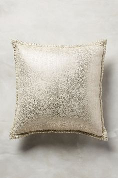Crackled Patina Pillow #anthropologie