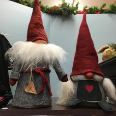 Real wool Tomte from Sweden - Carl & Vera!