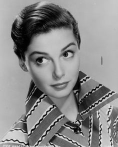 Pier Angeli-- like this hair. Also, she looks like Anne Hathaway, no?