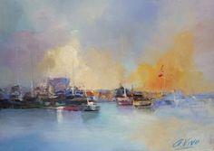 "Saatchi Art Artist Andres Vivo; Painting, ""Nº 4111  Marinas de la Costa Brava"" #art"