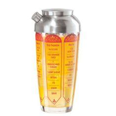 Oggi 7251.2 24-Ounce Scroll Glass and Aluminum Cocktail Shaker by Oggi. $24.99