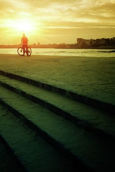 Sunset Bicycle Ride