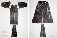 11th Century Moselund kirtle from Moselund near Viborg, Denmark. Dating 1050-1150