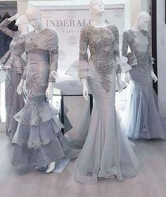 Bridal Dresses, Wedding Gowns, Hijab Dress Party, Model Kebaya, Designer Party Wear Dresses, Dress Pesta, Hijab Bride, Elegant Dresses, Dress Collection