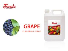 Buy Grape Syrup At $ 21.95-Fanale