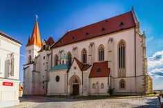 Church of St. Nicolas in Znojmo, Moravia, Czech Republic