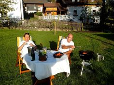 This summer was perfect for outdoor living. We lit the barbecue almost every day! Be Perfect, Alter, Barbecue, Outdoor Living, Old Things, Table Decorations, Building, Summer, Pictures