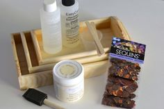 DIY Tray Tutorial: Sequined Resin - Crafts Unleashed