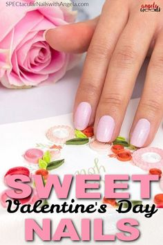 Get easy Valentine's Day nail design inspiration for your next manicure with this gorgeous color from Color Street. Think pink with Blushing in Flushing, a pink and fine silver glitter shade. These salon quality nail coverings add instant glamour to any outfit. You're going to become obsessed with this Valentine's Day nail art. Try Color Street today! #valentinesday #nailart #naildesign