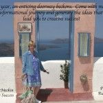 Inspirational Desktop Wallpaper January 2012 (Santorini - Door to Creative Success)