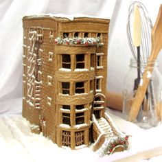 How to build a detailed gingerbread house: recipes, techniques & design templates.