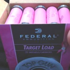 Pink shotgun shells that support Breast Cancer! they really do sale pink shotgun shells! Pink Love, Pretty In Pink, Top Gin, Hunting Girls, Hunting Gear, Breast Cancer Support, Country Girls, Country Life, Hunting Season