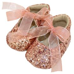 6e1c36b313fd1 Sparkly baby shoes available in rose gold, gold and silver available at Children's  Outlet Baby
