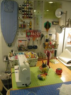 feather and cloth by girl from tulsa: SEWING ROOM REMODEL....COMPLETE! ....AND A GIVEAWAY