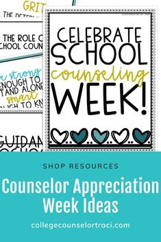 This National School Counseling Week set is a fun flower themed resource! Inform people in your school about the role of school counselors! Shop College Counselor Traci for more ideas! Role Of School Counselor, High School Counseling, Counselor Office, Counselor Bulletin Boards, College Bulletin Boards, National School Counseling Week, Curriculum Mapping, Appreciation Gifts, Board Ideas