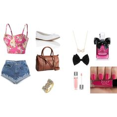 shoppin day with my friends  by jazzybadd-badd on Polyvore