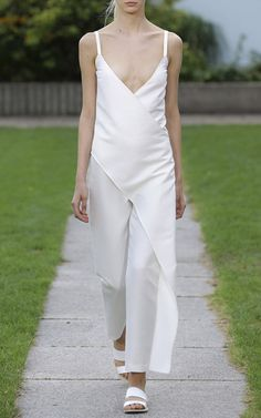 Beyond beyond amazing!    Quentin Overall In White Meringue by Perret Schaad for Preorder on Moda Operandi