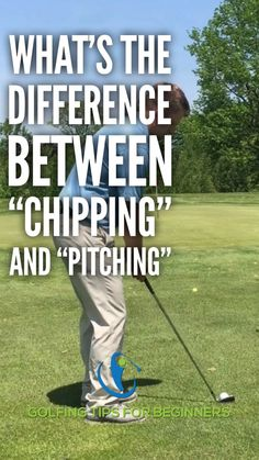 chipping golf tips . chipping in golf Video Golf, Golf Basics, Golf Chipping Tips, Guter Rat, Golf Putting Tips, Flexibility Training, Golf Instruction, Golf Tips For Beginners, Perfect Golf