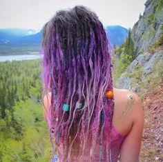 Lovely purple dreads x
