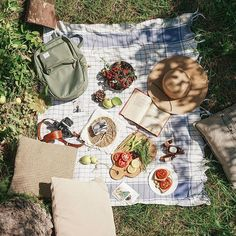 I LOVE picnics - ask me for a picnic in summer, autumn, winter or spring and I am there with a cheeseboard and tea ready to go Summer Aesthetic, Aesthetic Food, Aesthetic Dark, Aesthetic Drawing, Picnic Blanket, Outdoor Blanket, Picnic Date, Belle Photo, Summertime