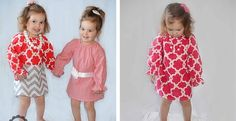 Adorable Long Sleeve Peasant Dresses