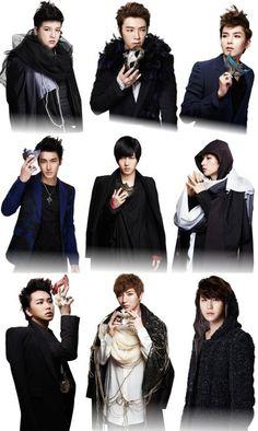 Super Junior in virtual concert, Suju super show 4 Kim Heechul, Leeteuk, Super Junior Donghae, Choi Siwon, Last Man Standing, Tvxq, Fine Men, Dream Guy, Pop Group