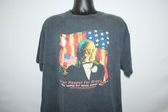 2000 Crypt Keeper For President Vintage Tales From The Crypt Classic HBO Horror TV Show Rare Political Satire T-Shirt