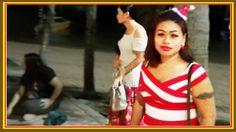 Cute Girls and Ladyboy at Beach Road in #Pattaya Nightlife 24 Dec 2016