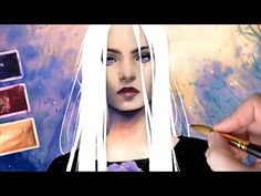 How to Art — 【Watercolor Portrait】White Night byLaovaan