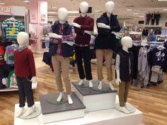 Children's fashion visual merchandising
