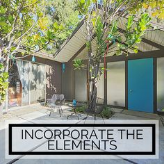 Stephen weighs in on why less is more for your #Eichler #landscaping design. Read about the #minimlist approach to your outdoor spaces.   |   BetterLivingSoCal.com