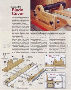 #1840 Table Saw Dust Collection Guard - Dust Collection Table Saw