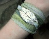 leaf bracelet... $49