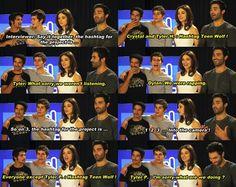 Teen Wolf Cast lol Poseys so cute