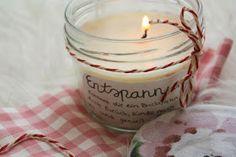 Liebstes von Herzen: Selbstgemachte Kerze als Geschenk!