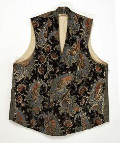 Gentleman's vest c 1850
