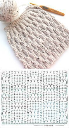 Collection of Crochet Cable Ha