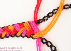DIY Ethnic Wool Necklace - Tutorial
