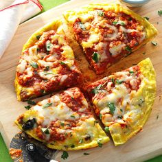 Sausage & Mushroom Pizza Frittata Recipe -I love this frittata because the combination of fresh flavors makes it special. It's the perfect sunny south Florida breakfast.—Wolfgang Hanau, West Palm Beach, Florida