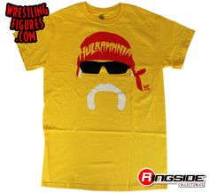 Hulk Hogan - Hogan Face WWE T-Shirt | Ringside Collectibles