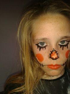 Espantapajaros para halloween. By MU