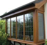 Square bay window for Wisconsin window manufacturers