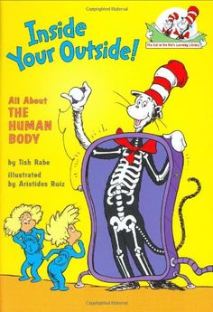 Read Inside Your Outside: All About the Human Body (Cat in the Hat's Learni children book by Tish Rabe . The Cat in the Hat takes Sally and Dick for a ride through the human body where they visit the right and left sides of Body Preschool, Preschool Science, Science For Kids, Science Activities, Science Experiments, Teach Preschool, Preschool Ideas, Senses Preschool, Children Activities