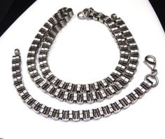 Vintage Heavy MENS Box Chain Necklace & by SellitAgainVintage, $35.00