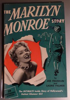 "Vintage ""The Marilyn Monroe Story"" book"