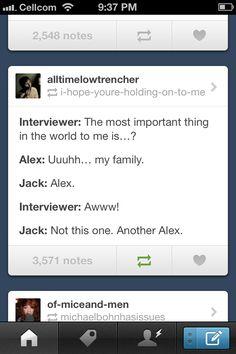 Oh Jack! I knew we has something special!!!! (sorry chris hahaha) @◐△Chloe Madd△◑ @Miranda Marrs Mew @Valeria Cervantes Vargas