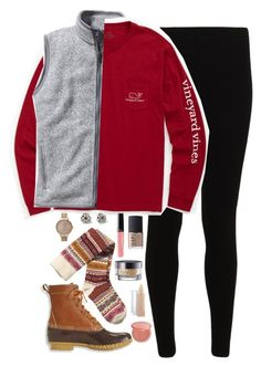 """Vineyard Vines"" by kaley-ii ❤ liked on Polyvore featuring Patagonia, Vineyard Vines, L.L.Bean, H&M, Kate Spade, Olivia Burton, NARS Cosmetics, Urban Decay, Maybelline and tarte"