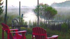 Relax on the beautiful marshes of #Georgia at the Blue Heron Inn Bed and Breakfast in Darien.