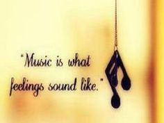 Music Is What Feelings Sound Like… @Codi Maroussi Jackson via Adele Forbes { In Mama Joe's Shadow~Cooking With Adele's Best Recipes}